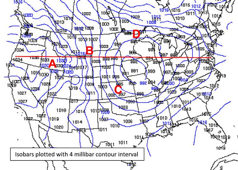 Us Wind Direction Map Page 1