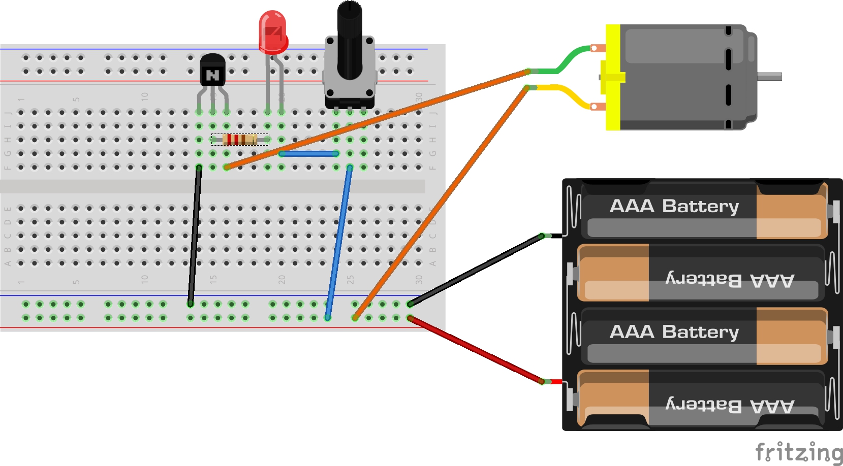 Lindaas Robotics Circuit Diagram Potentiometer Hint Breadboard And Schematic Diagrams For Analog Interface